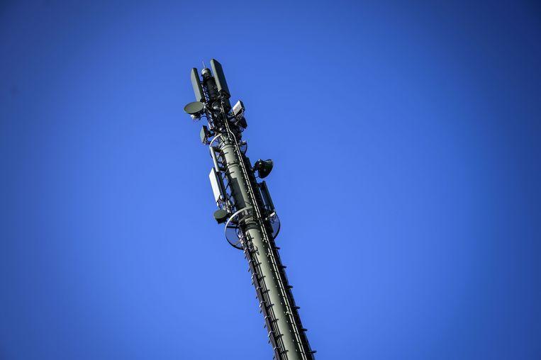 Een 5G-zendmast.