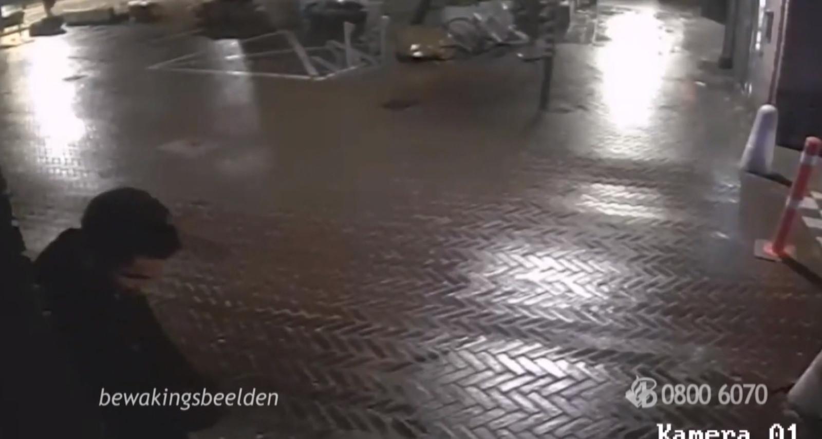 De aanslagpleger van Shisha Lounge Eindhoven