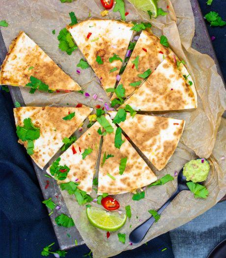 Wat Eten We Vandaag: Vegetarische quesadilla met zelfgemaakte kruidenmix