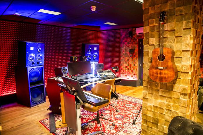 De opnamestudio van het nieuwe SBS-programma House of Talent.