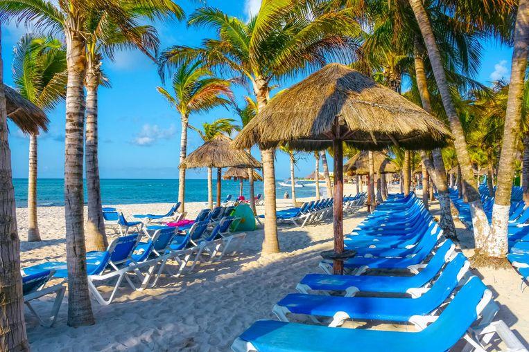 Een resort in Playa del Carmen, Mexico.