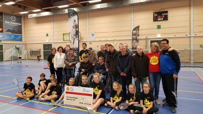 Badminton 4 Life zorgt voor mooie cheque aan goed doel
