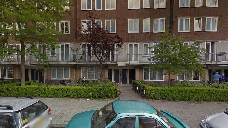 De vrouw overleed in een huis aan de Marco Polostraat. Beeld Google Streetview
