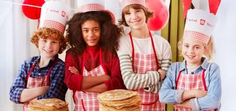 Leerlingen Het Anker in Hasselt pimpen rollators op pannenkoekdag