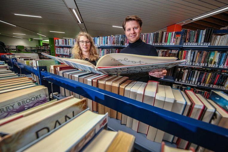 De bibliotheek van Kortrijk, waar de komende vier jaar ook 740.000 euro in nieuwe boeken wordt geïnvesteerd.