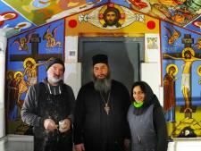 Georgisch-orthodoxe kloosterlingen willen nog wat langer in Vlissingen blijven