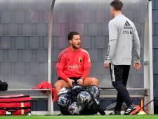Eden Hazard et Jan Vertonghen à nouveau absents de l'entraînement