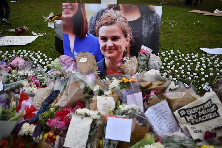 Jo Cox werd in de aanloop naar het brexitreferendum van 2016 vermoord.