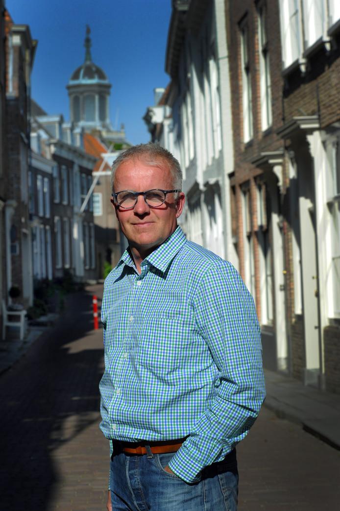 """Bernard Vercouteren van den Berge: ,,In het verleden vond men het gezeur, maar ik hoor geen gezucht meer in de klas als het over duurzaamheid gaat."""""""