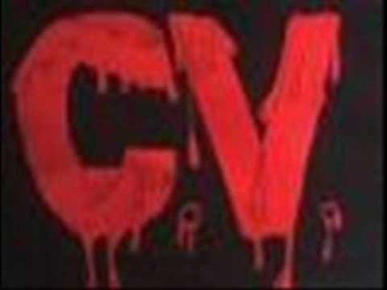 Het onheilspellende logo van de Comando Vermelho (CV). Beeld