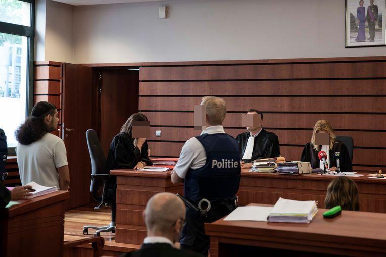 Bekir C. voor de strafrechtbank in Tongeren.