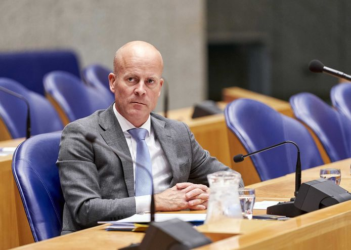 Staatssecretaris Raymond Knops van Binnenlandse Zaken en Koninkrijksrelaties