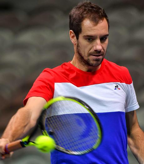 Gasquet krijgt verrassend voorkeur boven Mahut in finale Davis Cup