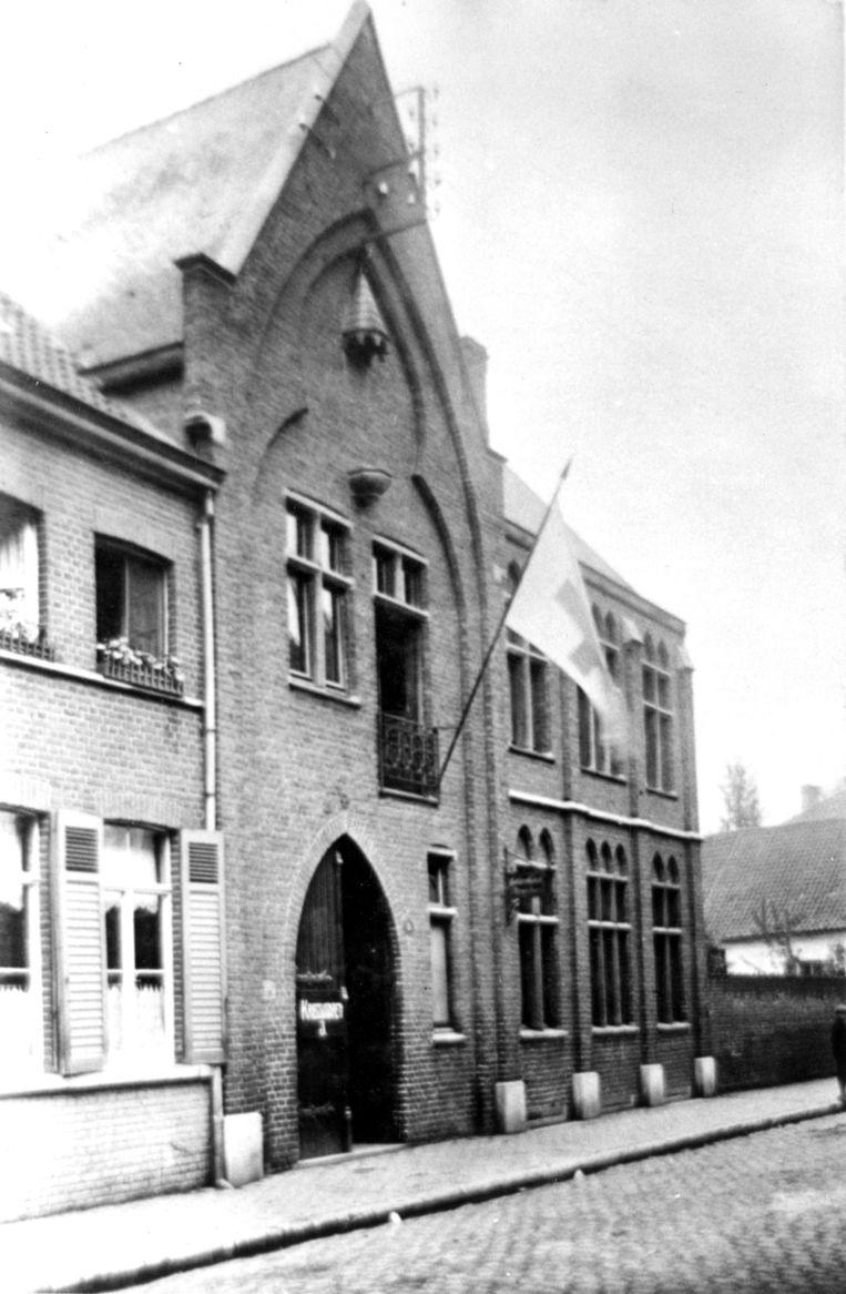 De Gilde als lazaret tijdens de Eerste Wereldoorlog.