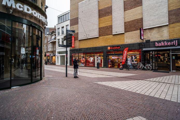 Arnhem als spookstad van COVID-19.