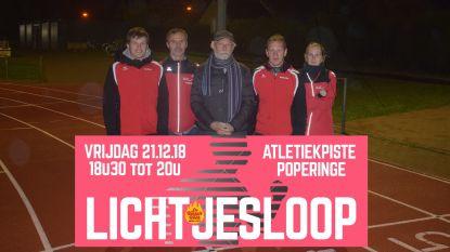 Atletiekclub organiseert Lichtjesloop voor het goede doel