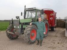 Boer Erik zoekt stemmen voor upgrade trekker
