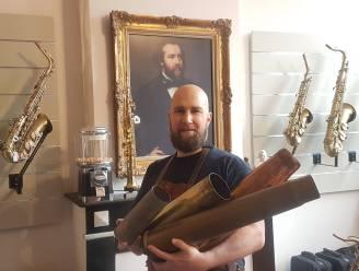 Saxofoonbouwer verhuist naar nieuwe stek in Brugge, al is ook dat maar tijdelijk