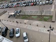 Een hart onder de riem én op de stoep van het Catharina Ziekenhuis in Eindhoven