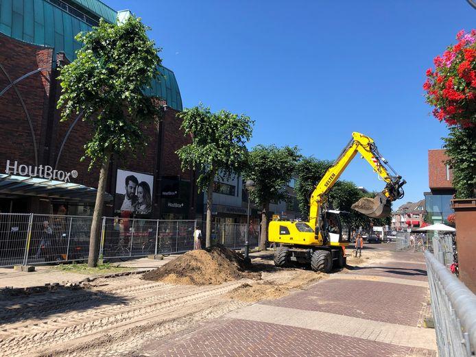 Dit wordt komende maanden een vertrouwd beeld in de Udense Marktstraat.