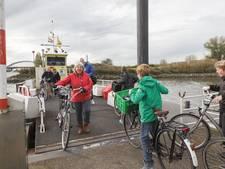 Fietsvoetveer Nieuwegein-Vianen vaart dinsdag niet