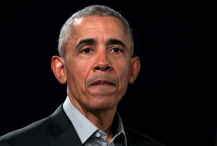 De voormalige Amerikaanse president Barack Obama.