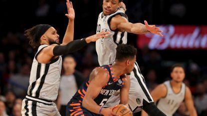 New York Knicks winnen na drie maanden weer eens een thuisduel en dat was zelfs nieuws op de Oscars