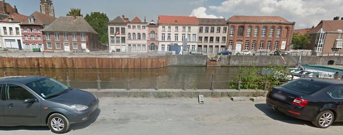 Quai des Poissonsceaux à Tournai