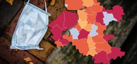 KAART | Voor het eerst meer dan 9000 coronabesmettingen op één dag: check hier jouw gemeente