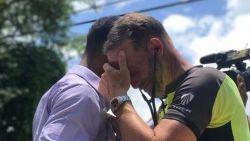 Papa fietst 2.250 km om het hart van zijn overleden dochter te horen kloppen