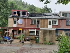 Grote woningbrand in Wageningen onder controle