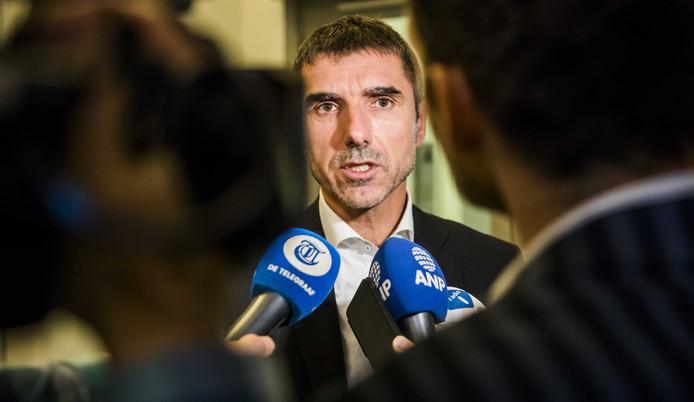 Staatssecretaris Paul Blokhuis van Volksgezondheid, Welzijn en Sport (ChristenUnie)