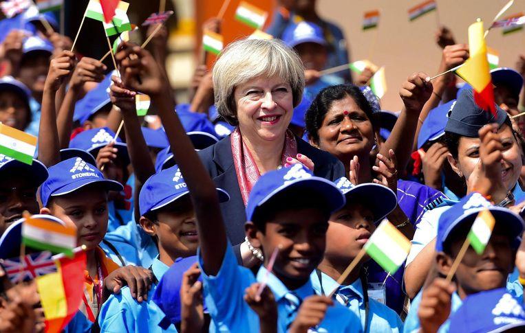 Theresa May, Verenigd Koninkrijk. Beeld epa