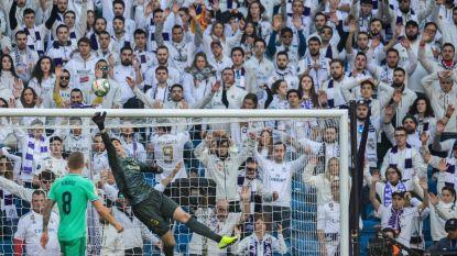 'Groen' Real boekt zuinige zege tegen Espanyol, Courtois speelt bepalende rol bij 0-0