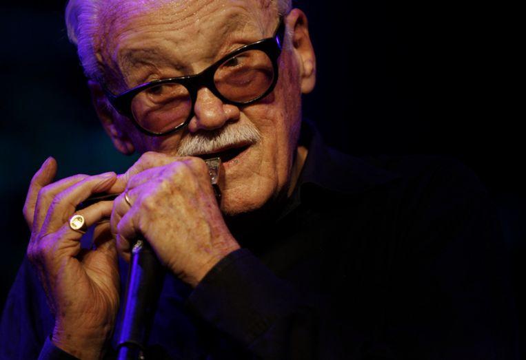 Thielemans live op het North Sea Jazz Festival 2007. Foto ANP/Robert Vos Beeld