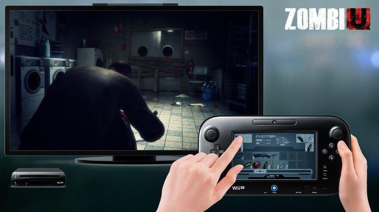 In 'ZombiU' toont de tabletcontroller je inventaris, of scant hij de omgeving.