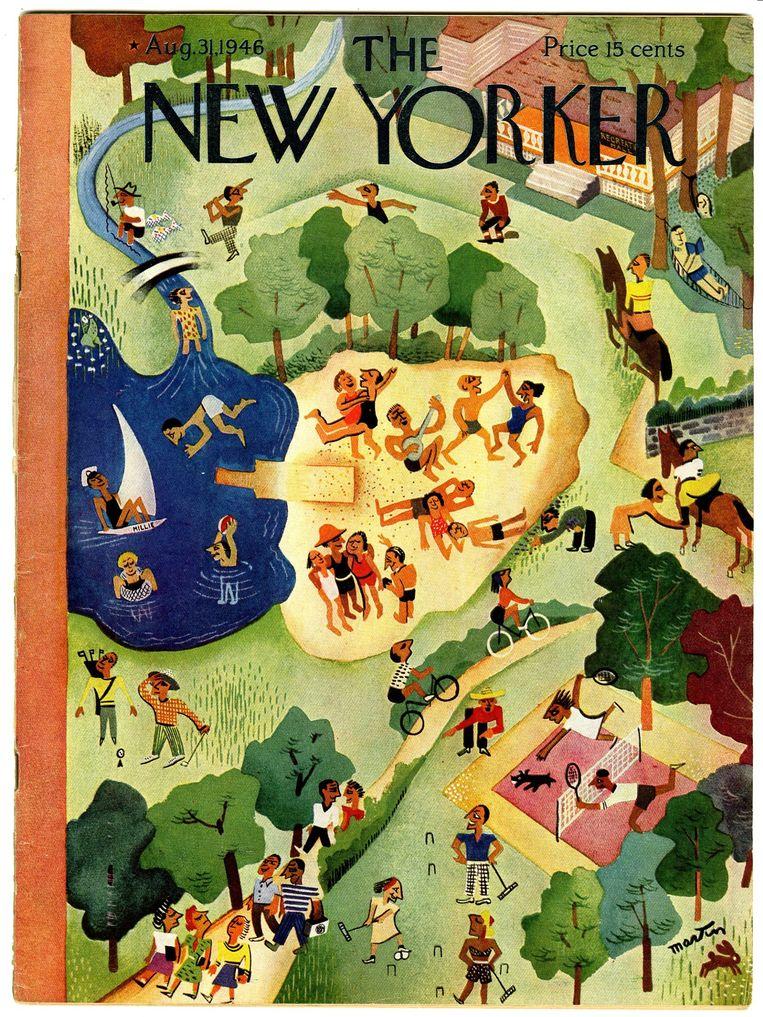 null Beeld The New Yorker - eerste editie 1946 - John Hersey - Hiroshima