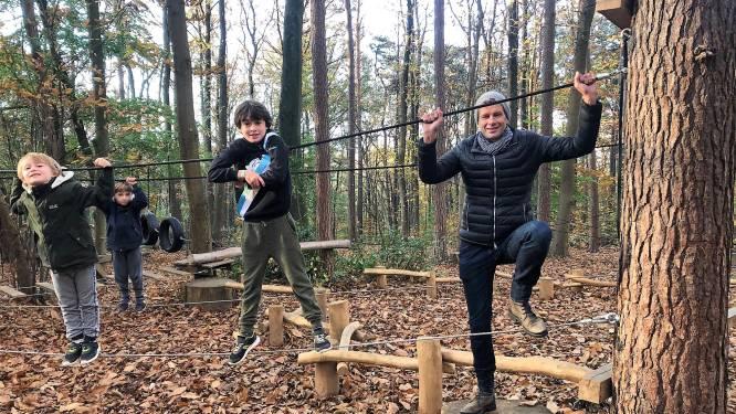 """Kinderen mogen ravotten in Hanenbos: """"Nieuw touwenparcours en bosbeleefpad open tijdens herfstvakantie"""""""