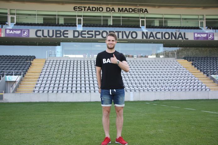 Cas Peters speelde korte tijd voor CD Nacional op Madeira.