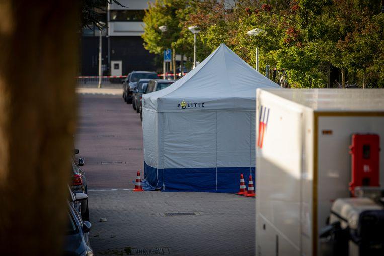 Wiersum werd woensdagmorgen bij zijn woning in Buitenveldert op straat doodgeschoten. Beeld ANP
