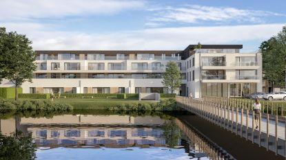 Vroegere Foto Video Mac en pastorie van Petegem maken plaats voor appartementen, handelszaken en doorsteek naar Martinuspark