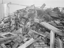 Grote brand bij Aerosol in Barneveld vijftig jaar geleden: 'Spuitbussen knalden als rotjes'