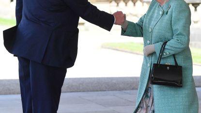 Eerst scheldpartij, dan vuistje met de queen