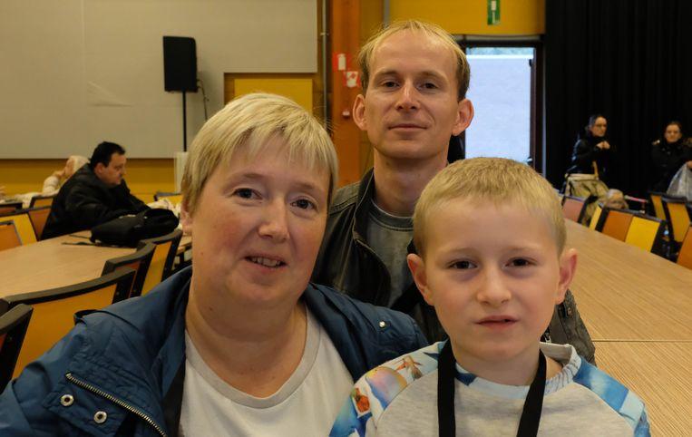 Wendy Van Rotterdam, Gunther Bourmans en zoon Daan
