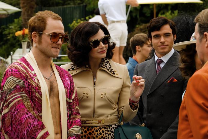 """Richard Madden, à droite, dans le rôle de John Reid, dans le biopic """"Rocketman"""""""