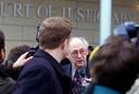 John, hier op een archieffoto uit 2000, tijdens het proces tegen de Lockerbie-verdachten.