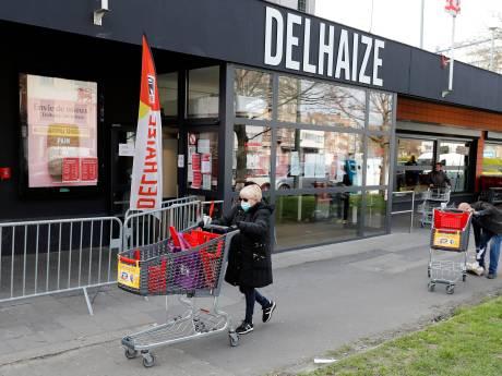 Chez Delhaize, un client sur trois ne respecte pas la distanciation sociale