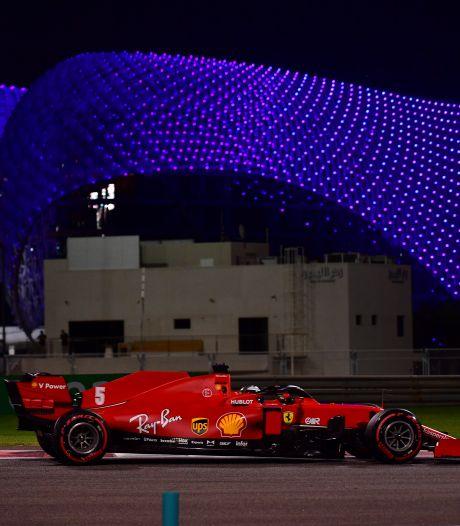 Vettel voor laatste race bij Ferrari: 'We hebben gefaald'