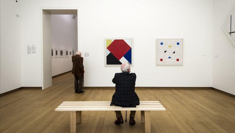Het Fonds Beeldende Kunst, Vormgeving en Bouwfonds ging op in het Mondriaanfonds. Beeld anp