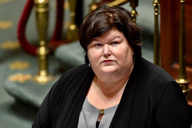 Open Vld-minister Maggie De Block.